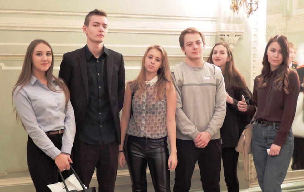 Студенты ГПК в Колонном Зале