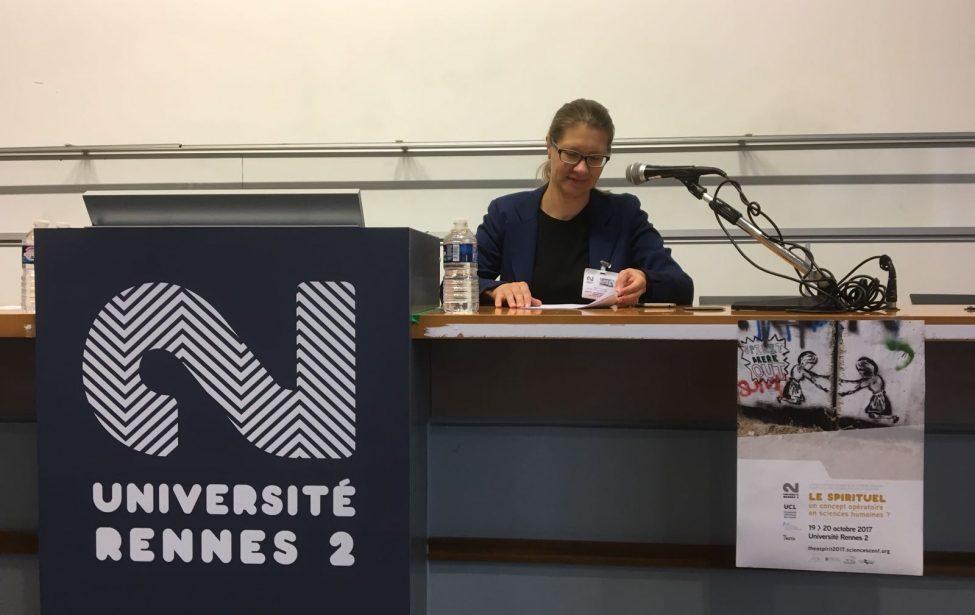 Международная междисциплинарная конференция «Le spirituel, un concept opératoire en sciences humaines? Débat interdisciplinaire» / «Духовное, действующий концепт в гуманитарных науках? Междисциплинарное обсуждение»