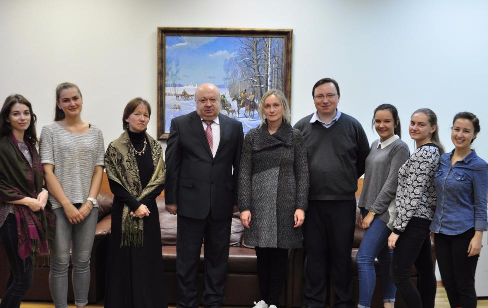 Студенты из Литвы в МГПУ