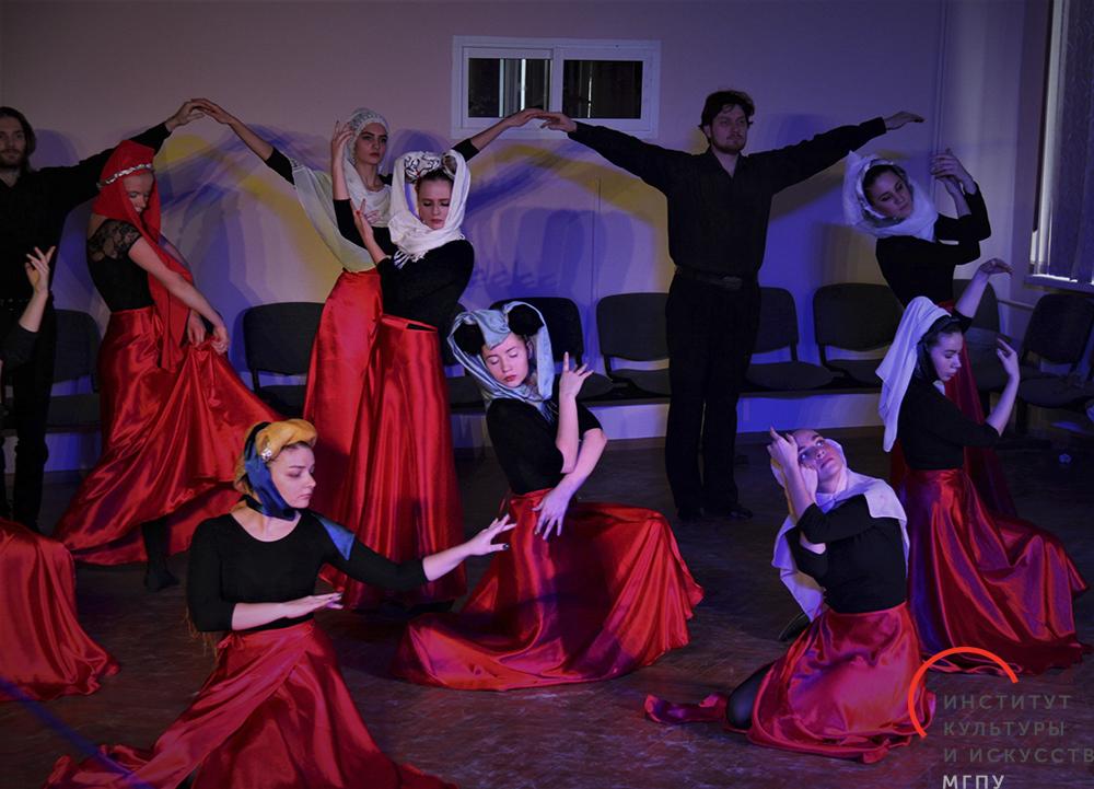 «Историко-бытовой танец XV— XIX веков»