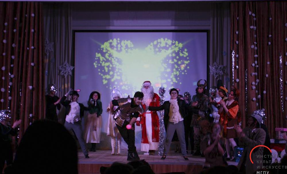 Фееричное новогоднее представление