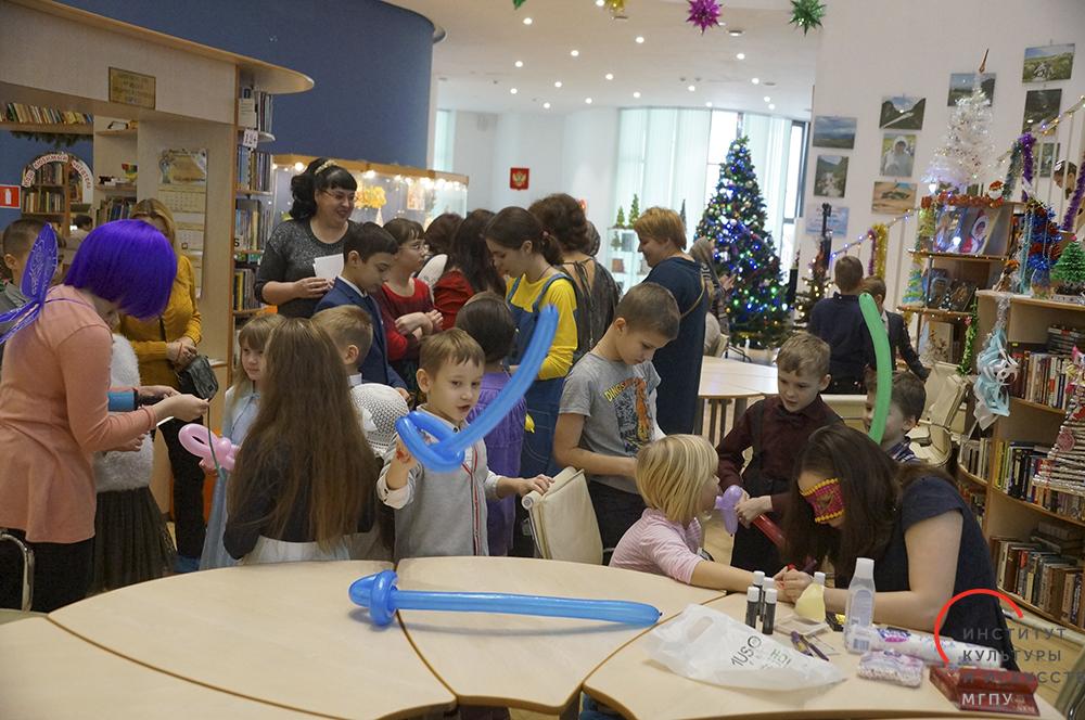 Рождественский праздник в Московской областной государственной детской библиотеке