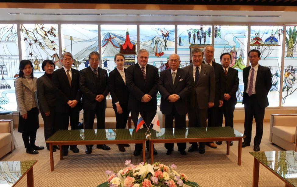 Партнерство с Киотским университетом иностранных языков