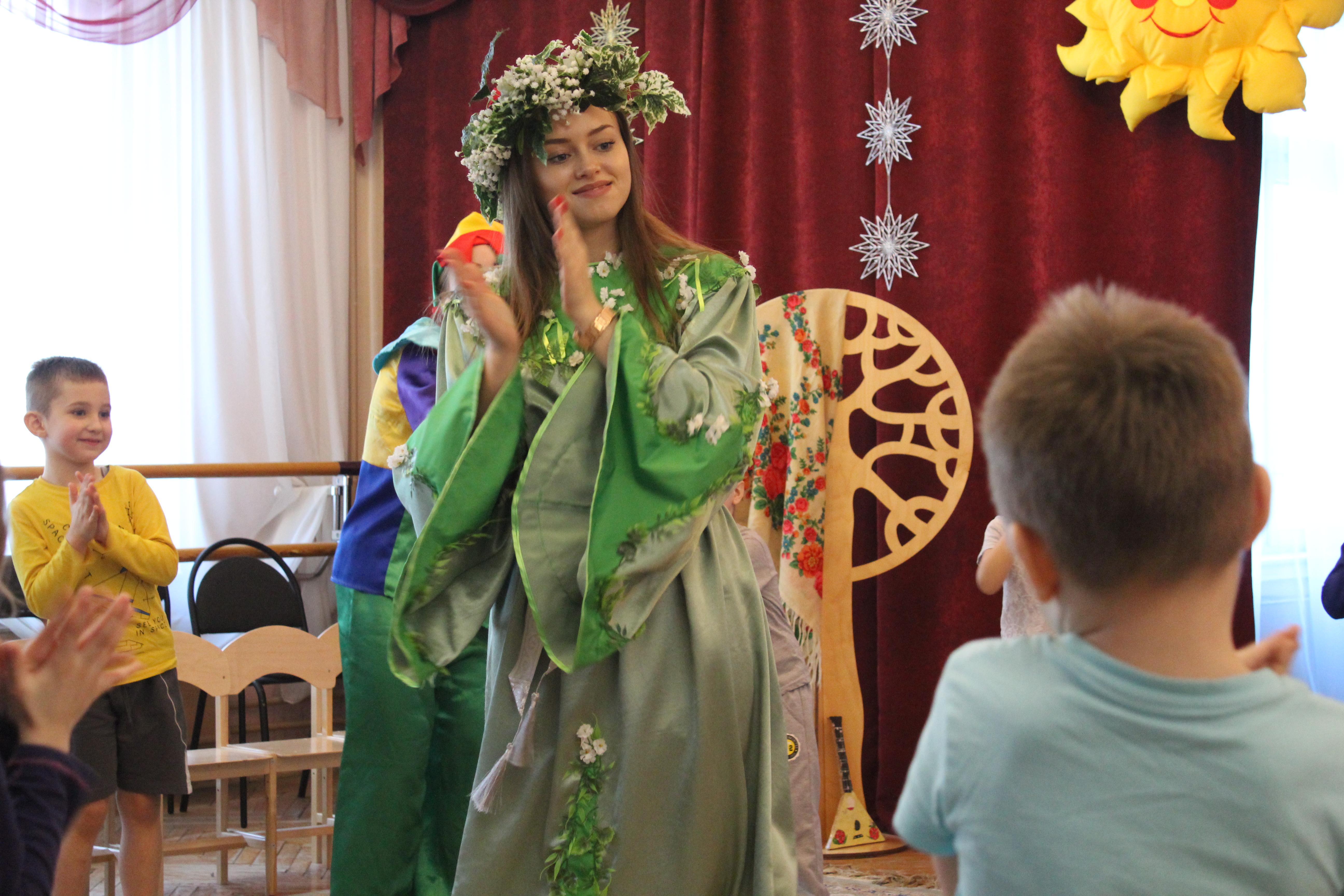 12 февраля 2018 г. Широкая масленица — студенты-волонтёры ИКИ МГПУ в детских садах Москвы