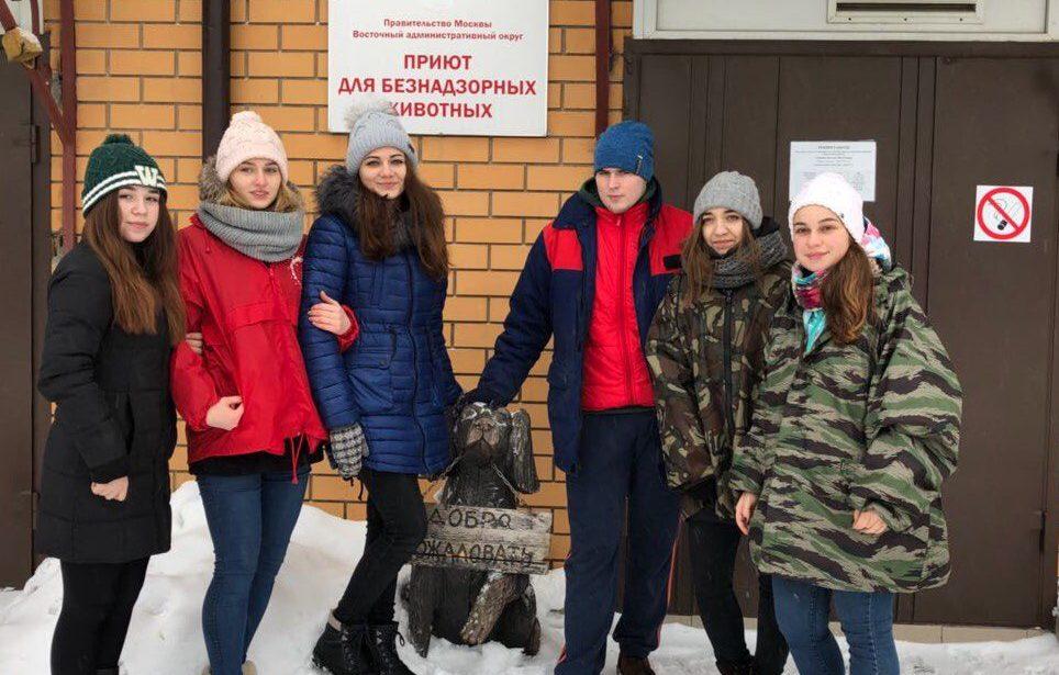 Волонтерский выезд студентов ИПССО вприют для животных