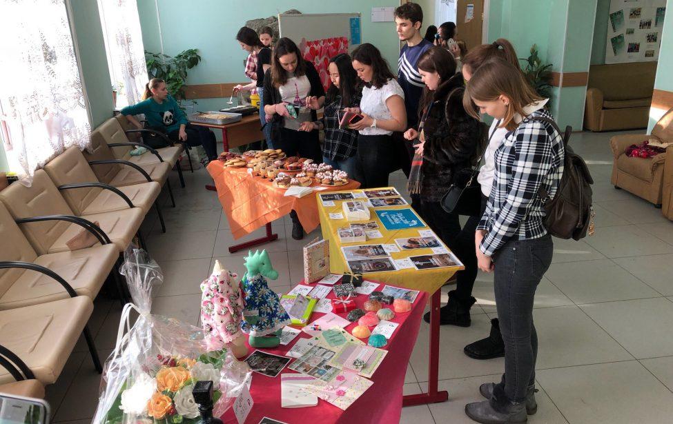 Благотворительная ярмарка мастеров в ИПССО