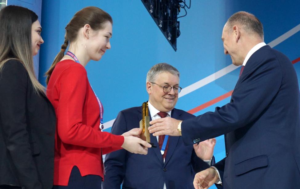Награждены победители олимпиады «Я — профессионал»