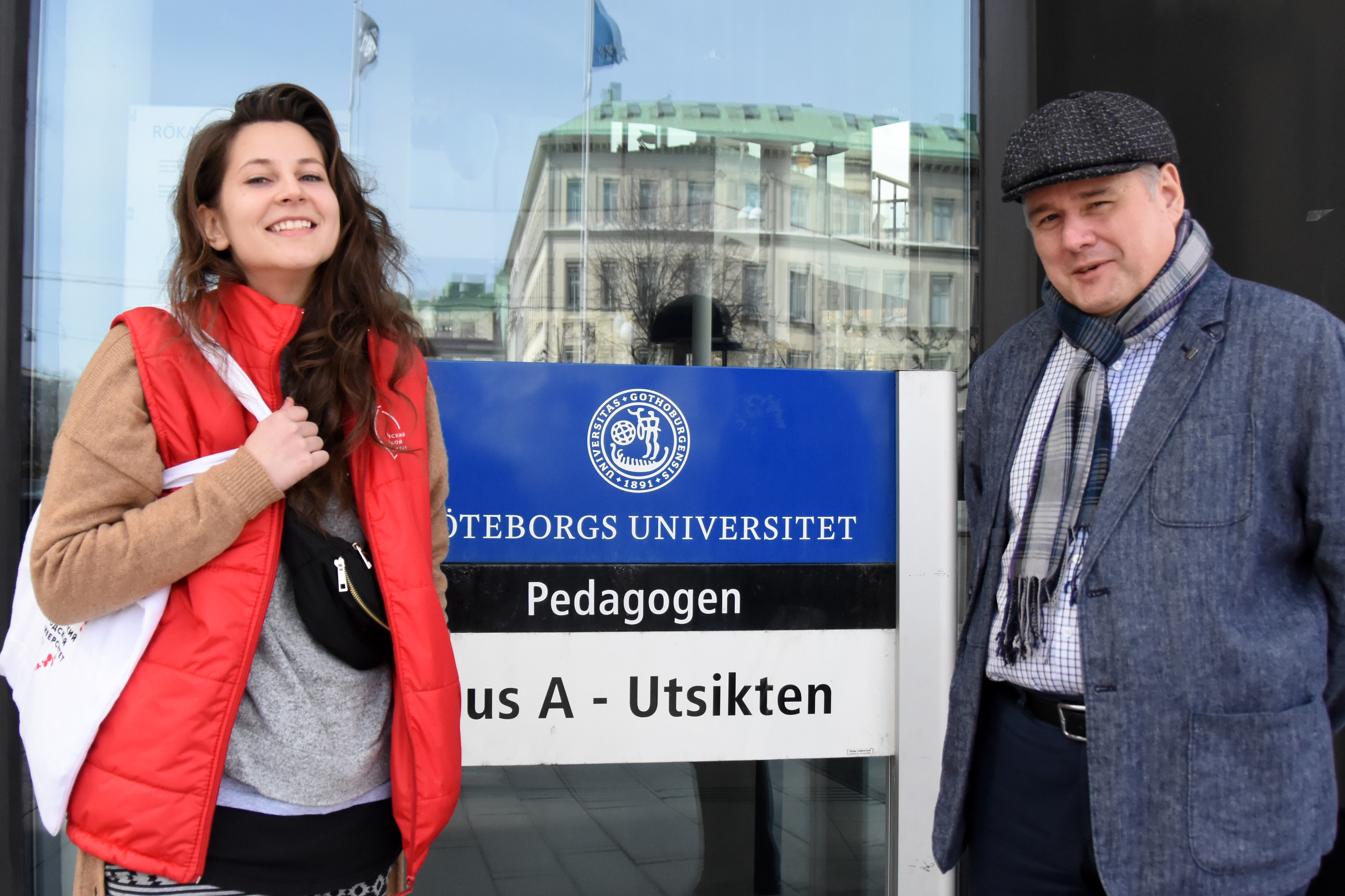Рабочий визит вУниверситет Гетеборга