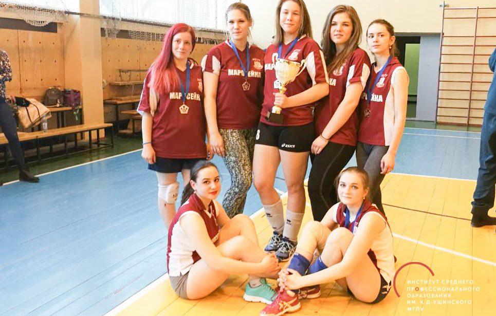 Серебро в Открытой лиге по волейболу