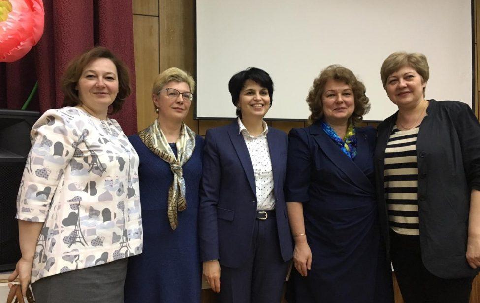 Встреча спредставителями Департамента образования Москвы
