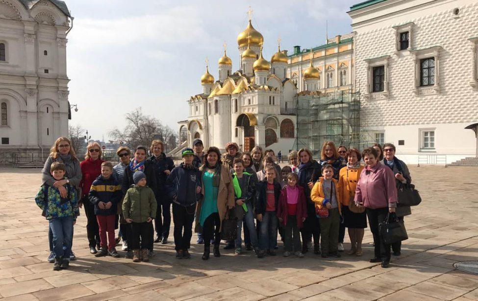 21апреля 2018г. —экскурсия вМосковский Кремль