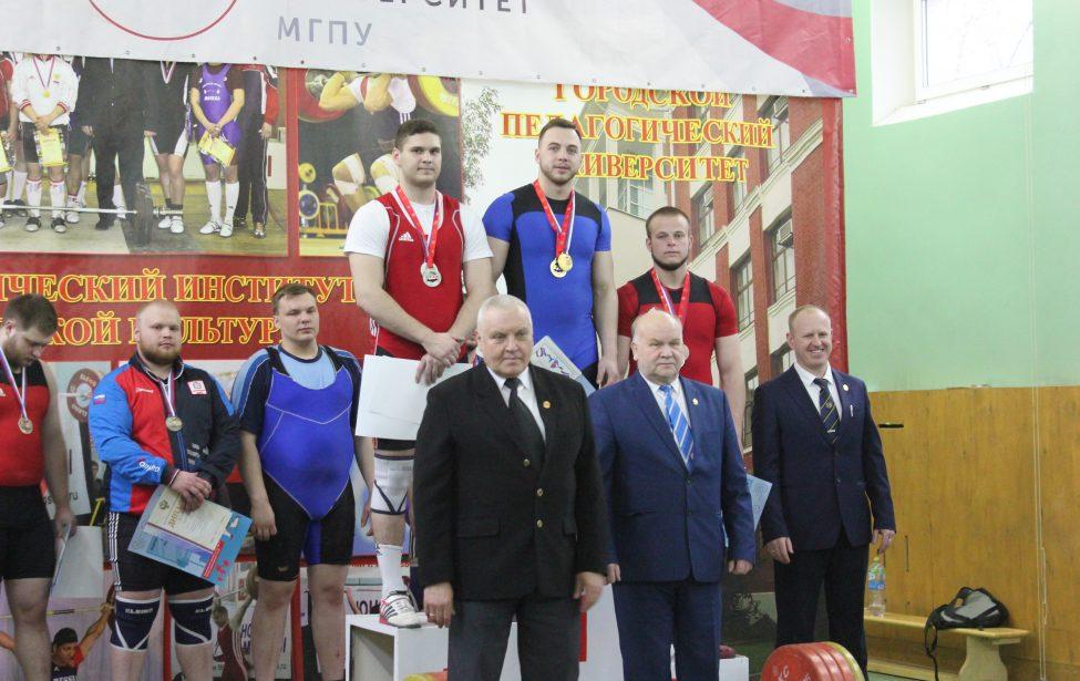 Результаты всероссийских соревнований тяжелоатлетов
