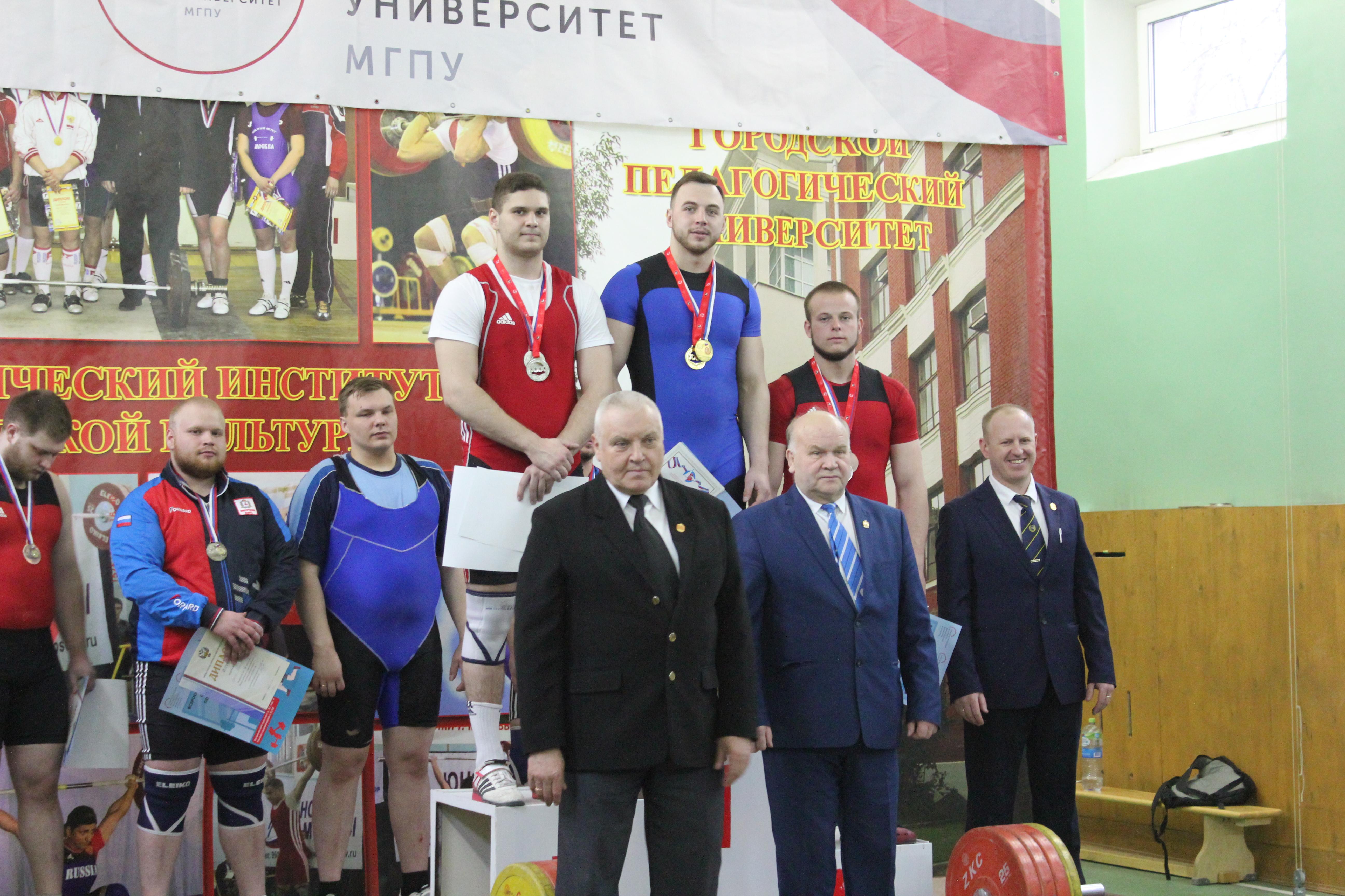 Всероссийские студенческие соревнования потяжелой атлетике