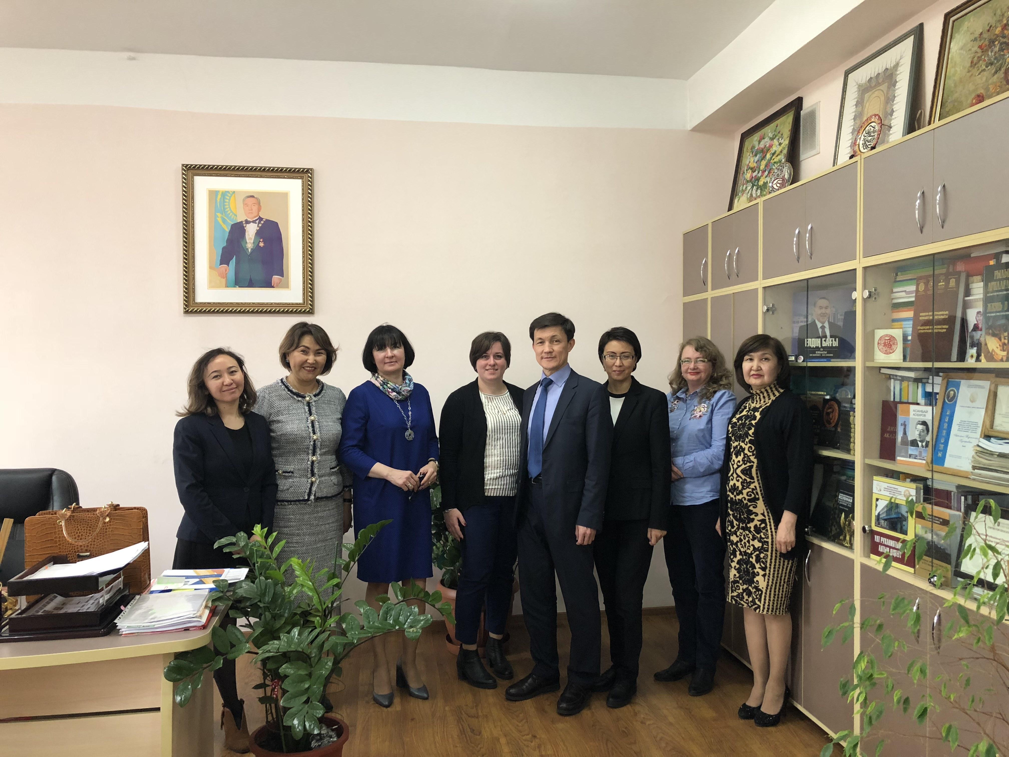 Cовместная магистратура сКазНПУ имени Абая