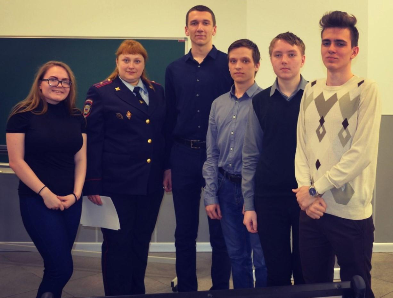 Студенты юридического победители викторины