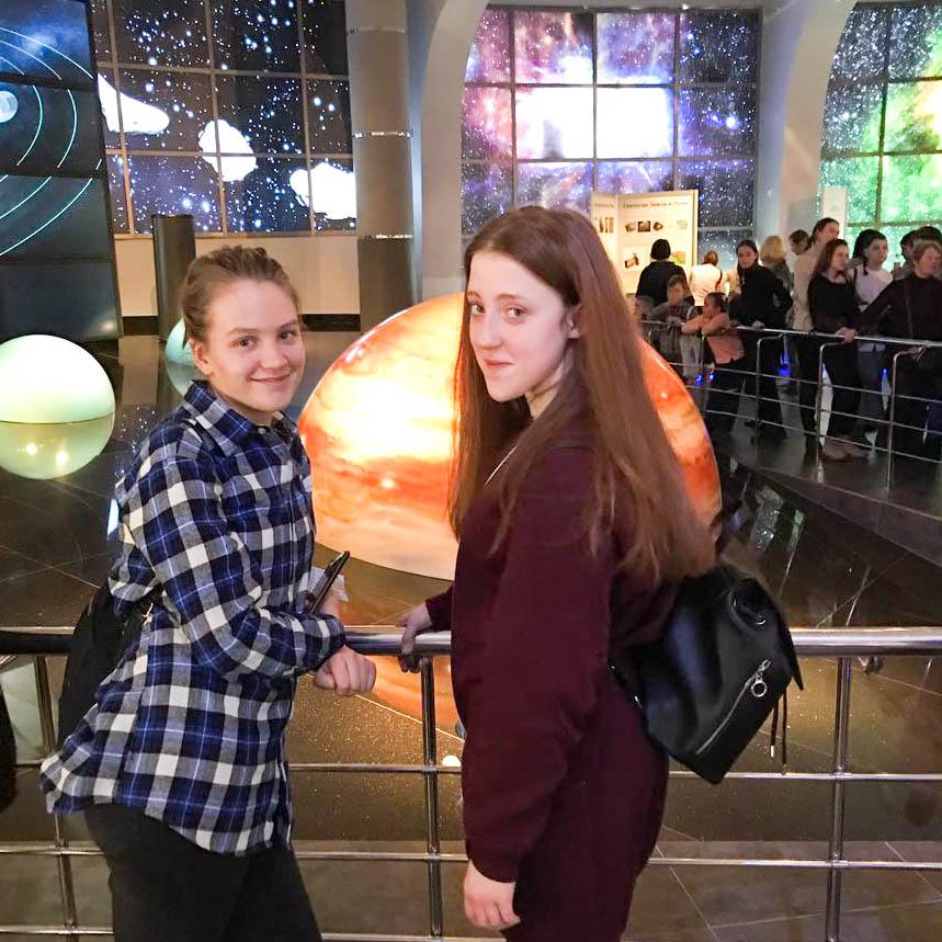 Мы в Московском планетарии