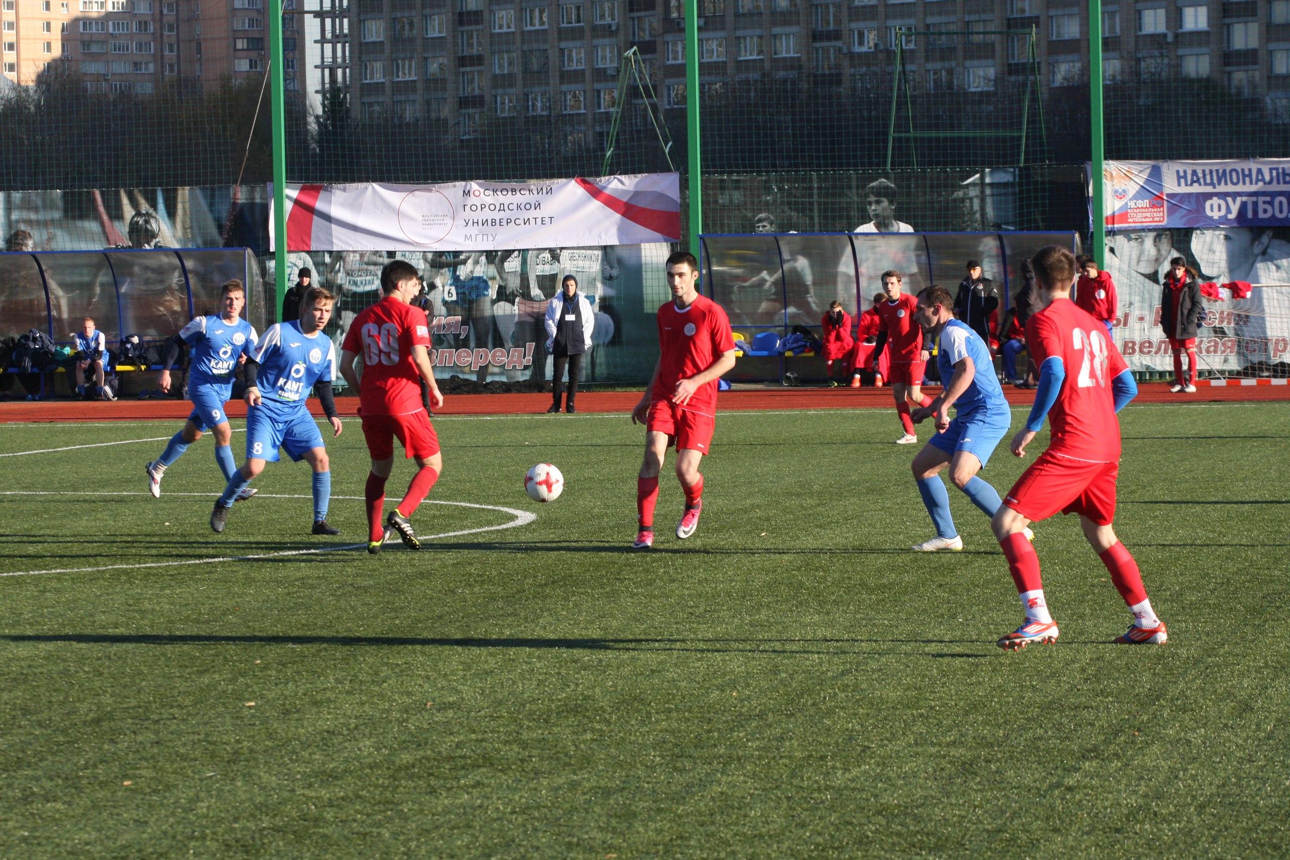 Московский этап Национальной студенческой футбольной лиги
