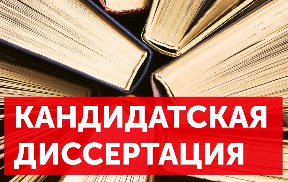 Диссертация Сычевой М.А.