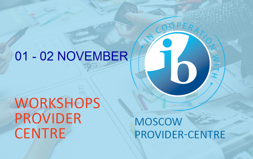 The IB workshops in November