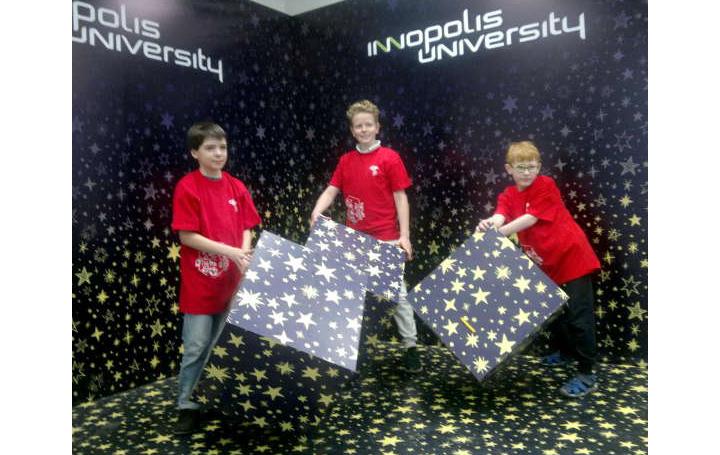 3 место наВсероссийской робототехнической олимпиаде