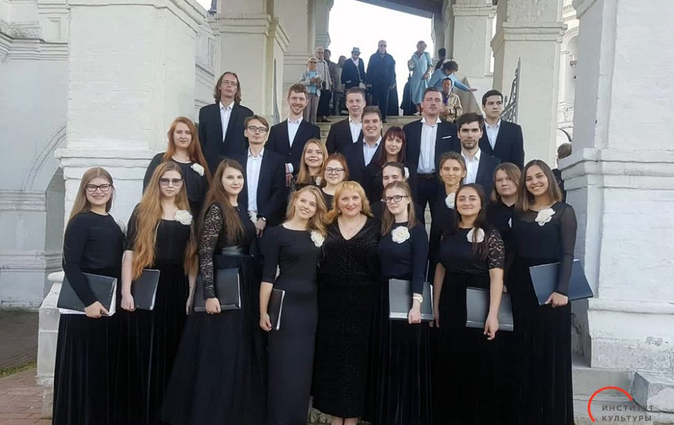 Хоровая капелла МГПУ нафестивале «Русь певчая»