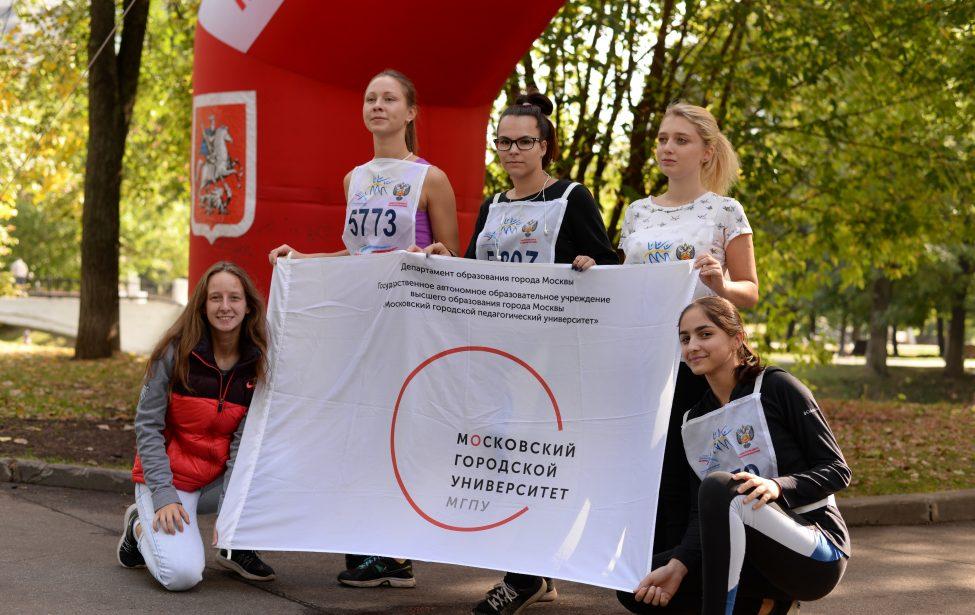 Студенты приняли участие вКроссе нации