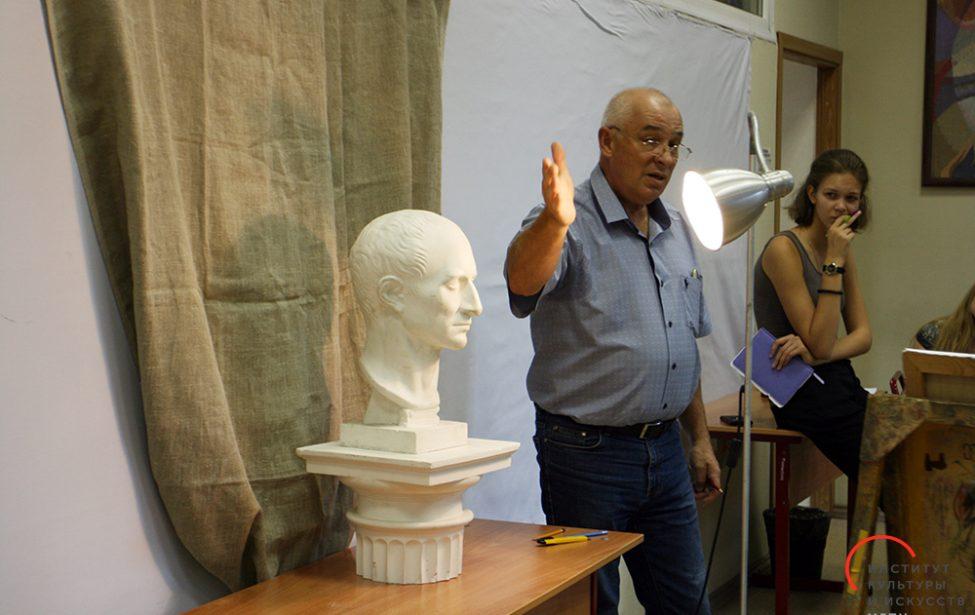 #КлассИКИ: мастер-класс порисунку профессора Сергея Рощина