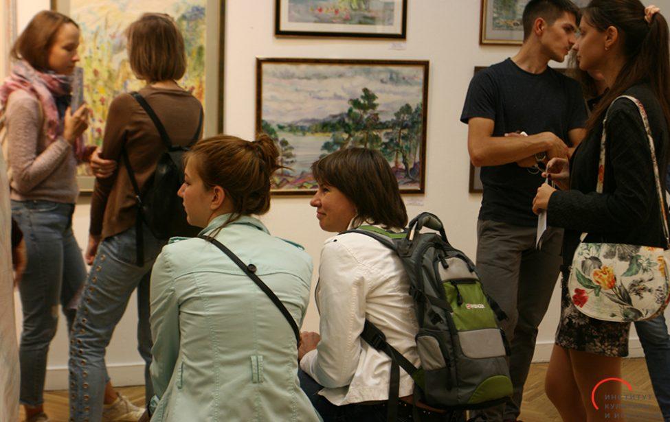 Открытие выставки Марии Семёновой вЦДХ