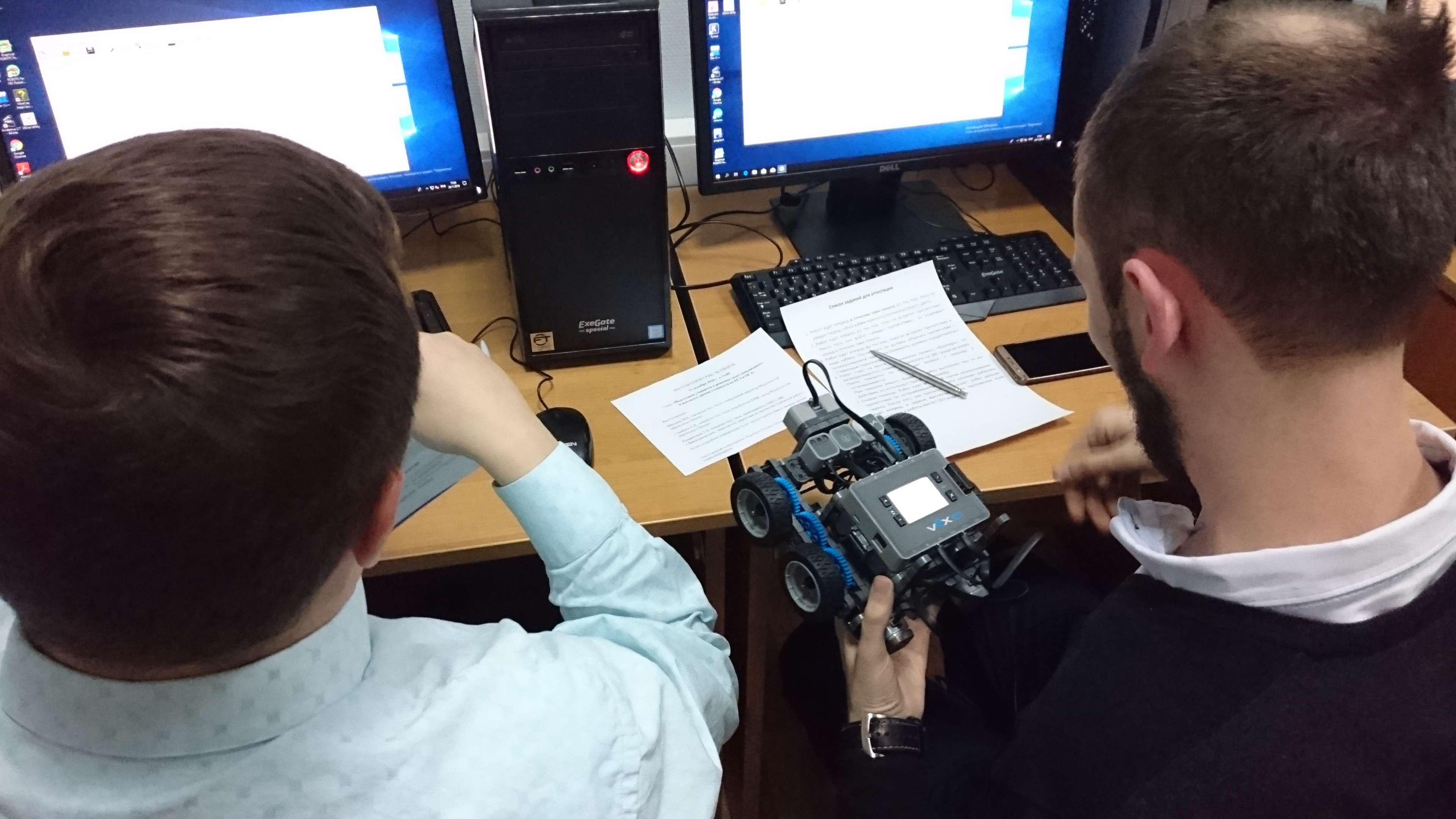 Курсы по робототехнике в ИЦО