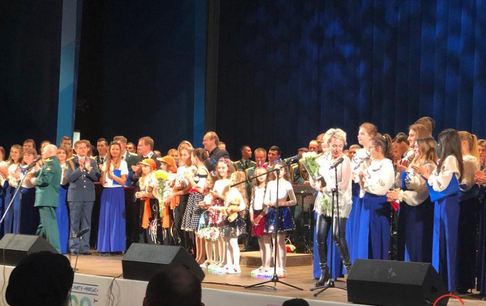 Хор «Контраст» на вечере композитора Александра Гилева