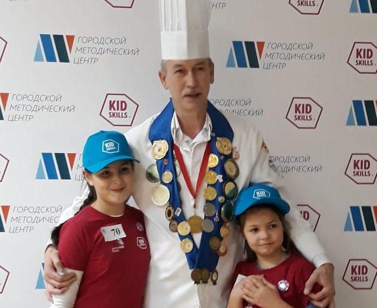 Юные кулинары МГПУ вфинале чемпионата KidSkills