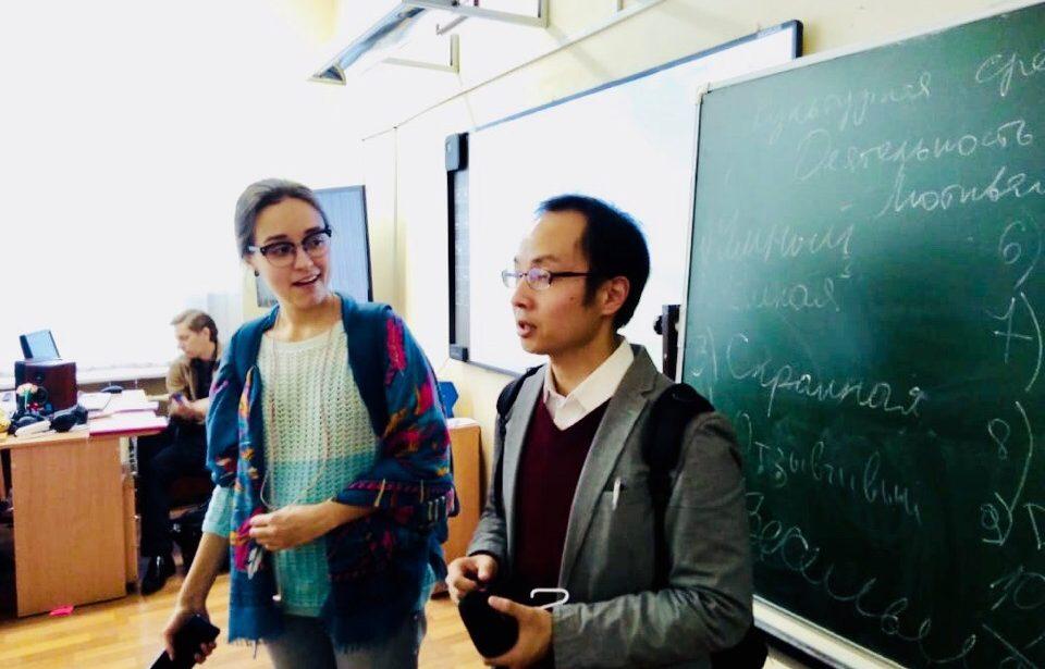 Встреча спрофессором Университета Канагавы