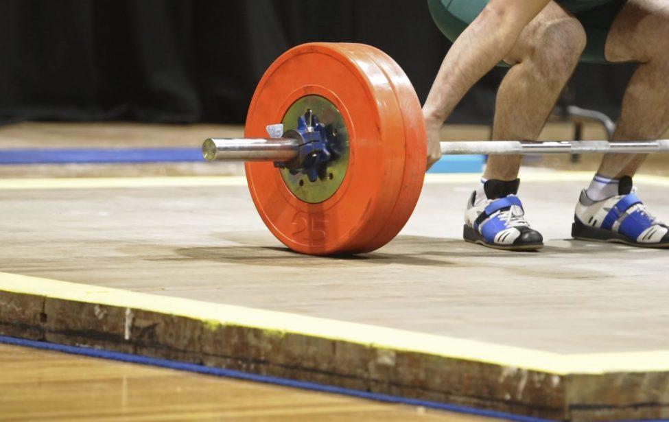 Золото на первенстве России по тяжелой атлетике