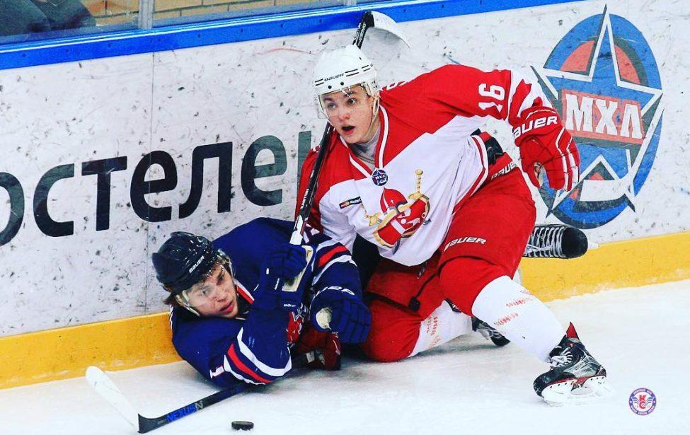 Глеб Кожемякин— лучший защитник Молодежной хоккейной лиги