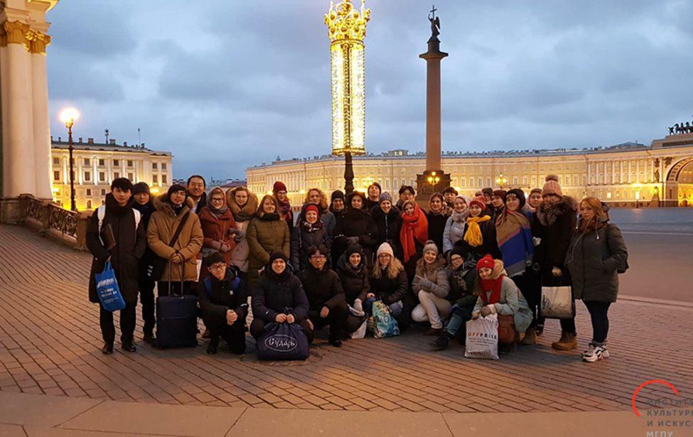 Хоровая капелла МГПУ выступила в Санкт-Петербурге