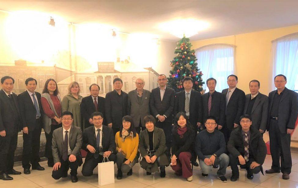 Делегация из Китая в МГПУ
