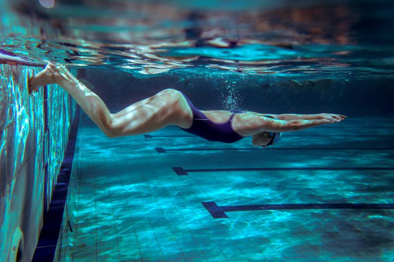 Студенческие соревнования поплаванию