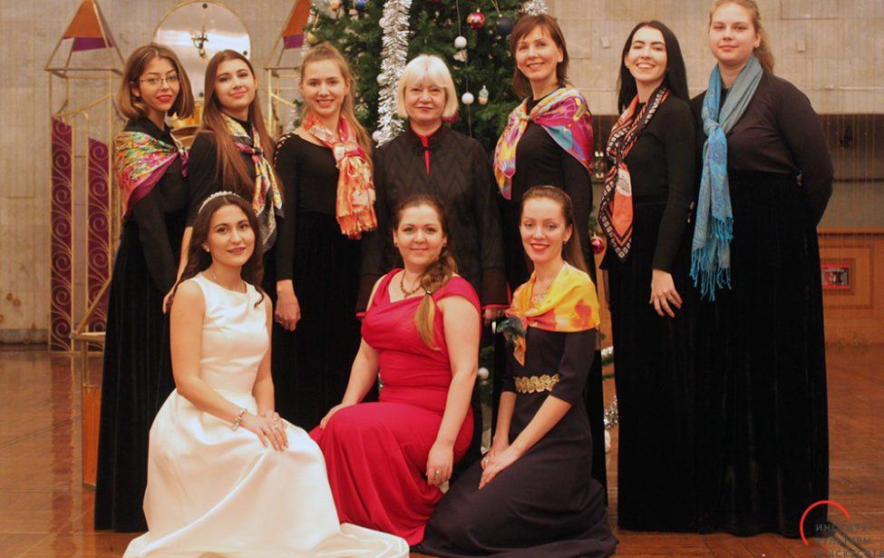 Лауреаты Всероссийского конкурса «Рождественские огни»