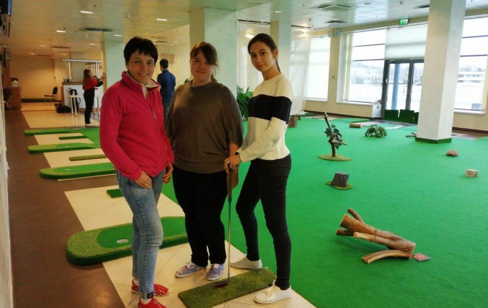 Квалификационный семинар поправилам мини-гольфа
