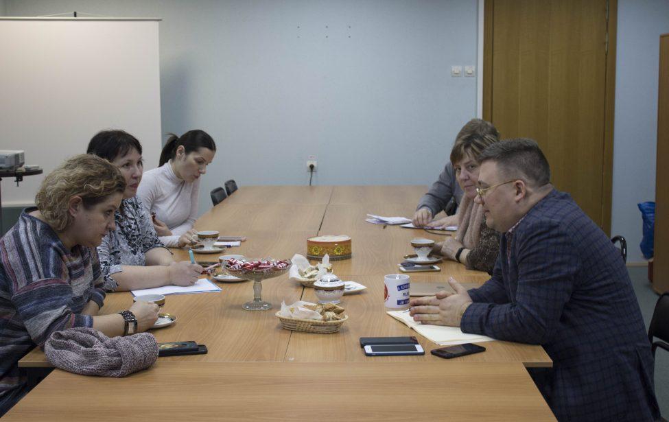 Рабочая встреча сделегацией района Ивановское