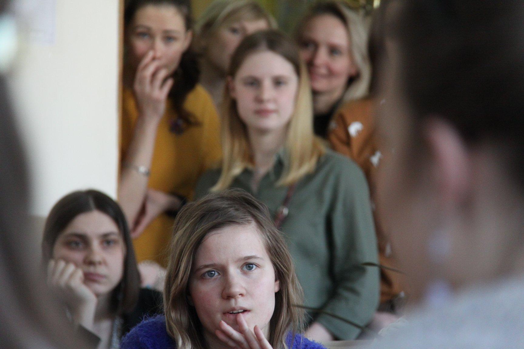 14.03.2019 г.Встреча студентов ИКИ сДмитрием Агранатом