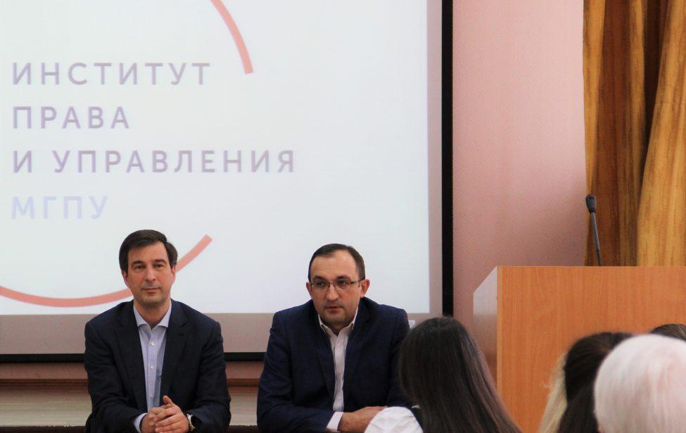 Встреча студентов спроректором поучебной работе