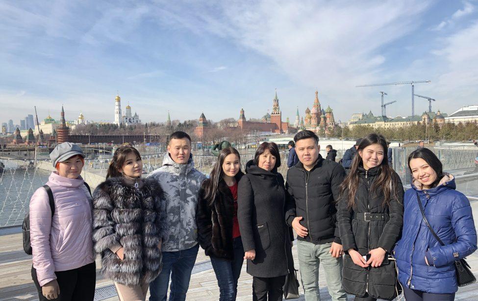 Магистранты изКазахстана посетили исторический центр Москвы