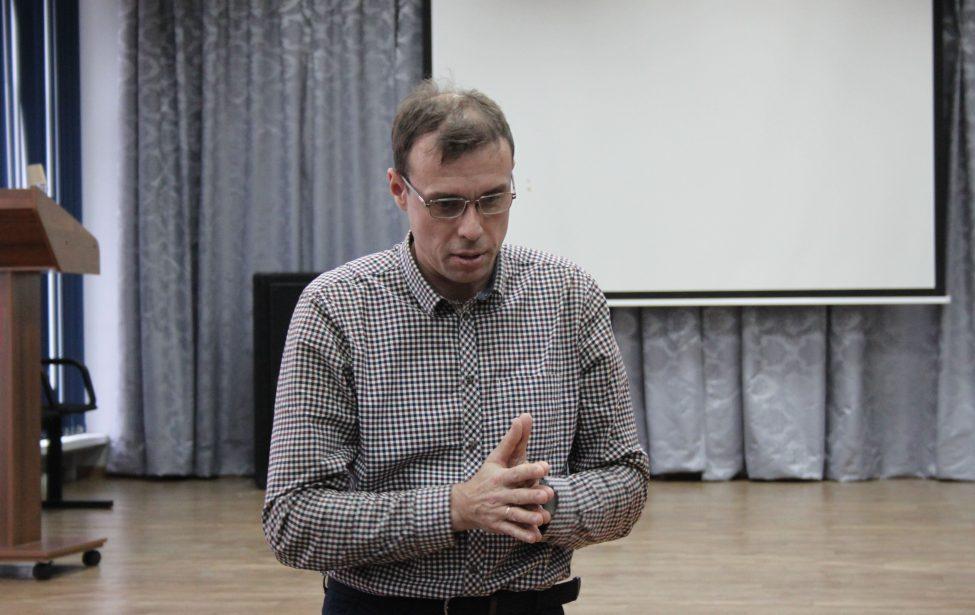 Вмастерской Дмитрия Буткова прошла третья лекция