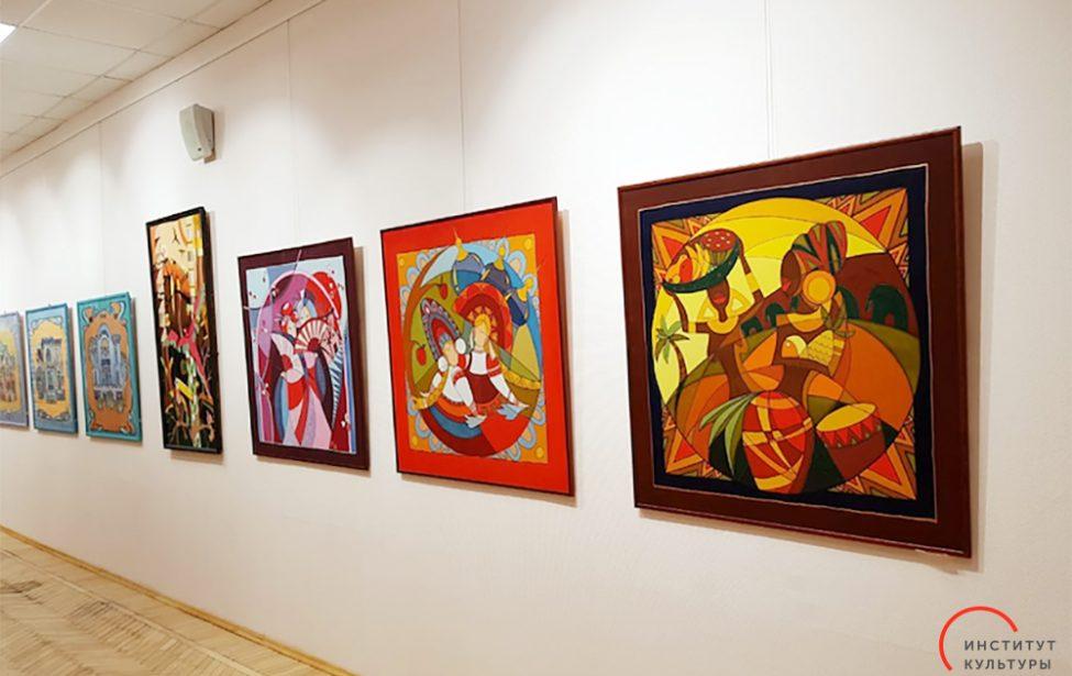 Весенняя выставка студенческих работ
