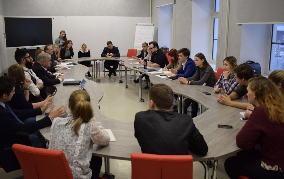 Встреча ректора состуденческим советом