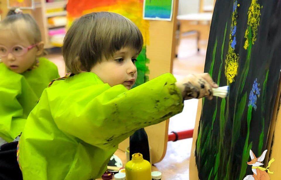 Юные художники в Маленьком Лисе
