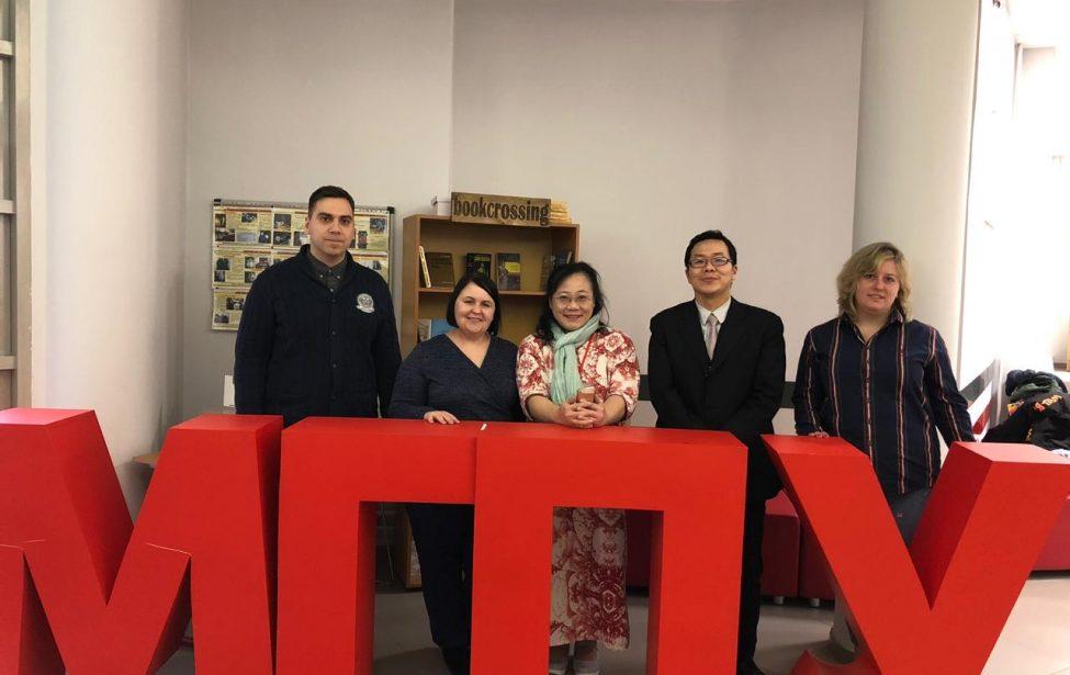Делегация коллег из университетов Тайваня в МГПУ