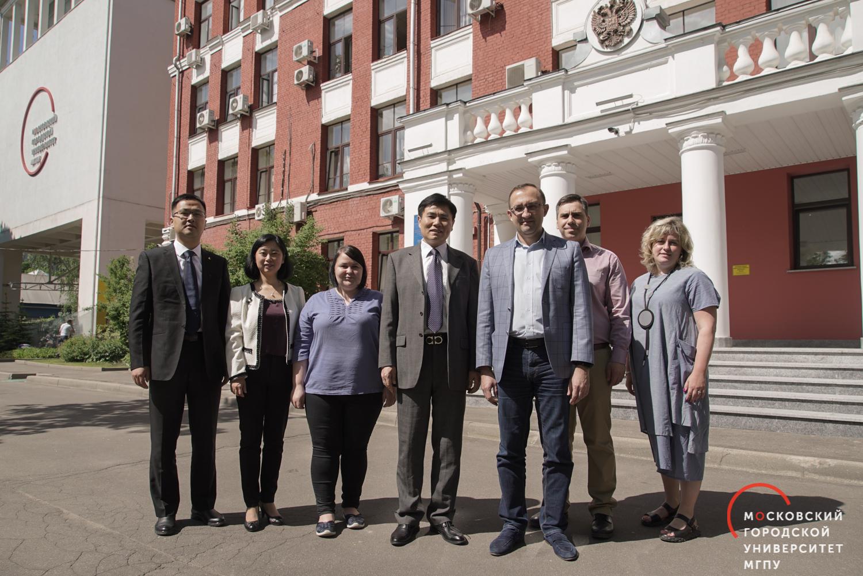 Сотрудничество с Анхойским университетом