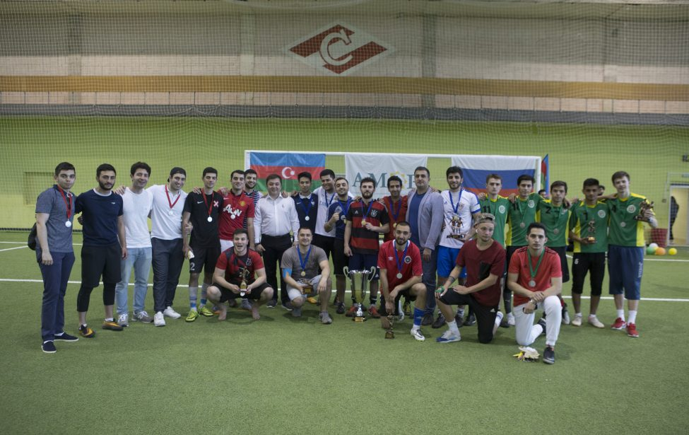 Команда МГПУ— бронзовый призер Кубка Гейдара Алиева
